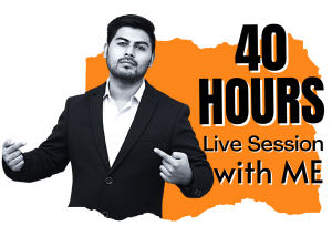 40 HOURS LIVE SESSION